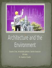 Architecture and the Environment.pptx