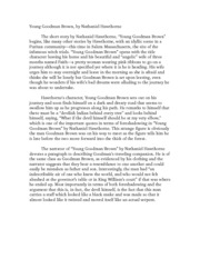 essay young goodman brown setting
