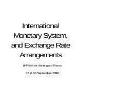 Lecture 8 - Intl. Mon. System and FX regimes September 2016.pdf