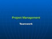 2. Team Work- Partnering-TQM