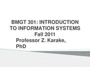 BMGT 301_Introduction