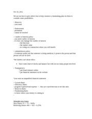 NPM 302- oct 16, 2012 notes