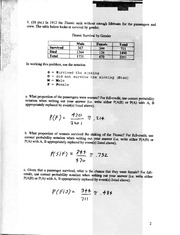 Solutions to Ma381, Exam 1 (version 2), F04