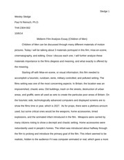 Midterm Essay- Wesley Sledge
