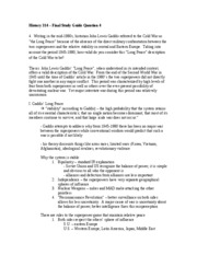 Cold War Questions for Tests and Worksheets - Help Teaching