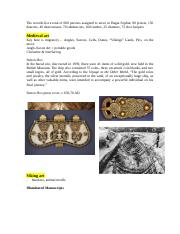ART160 Medieval art & Viking Art.docx