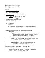 405 combined discussion plan 1-22.rtf