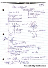 Math 115 sequence of Transformations