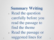 enl1214 summary writing