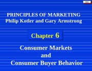 Consumer Behavior from Marketing Point of View