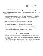 M5's Graded Individual Assignment Problem Solving (2).docx