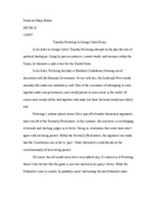george cabot essay