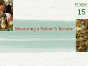 Chapter 15 - Measuring a nation's income