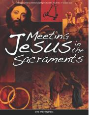 MEETING JESUS IN THE SACRAMENTS BOOK