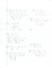 Expanding Equations Notes