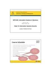 Week 10 S1_2013_INFS1602_IS_Security_Wk_10_CvT_2pg