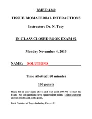 BMED 4240_Exam 2_F13_Solutions