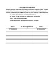 Worksheet COMPARE AND CONTRAST.docx