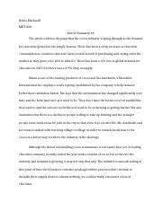 MKT 430 Article Summary 6.docx