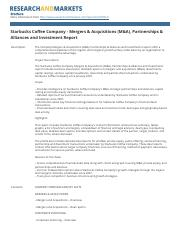 starbucks_coffee_company_mergers_and