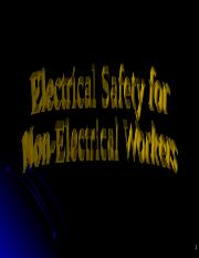 Sand_2009_1947_P_Non-Electrical_Workers_Basic_Electrical_Safety.ppt