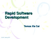 Lecuture 11 Rapid Software Development