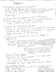 Psychology 105 chapter 1 notes