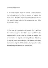 Conceptual Questions M6