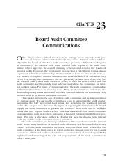 2-23_Board Audit Committee Communications