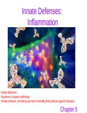 Patho- Innate Defenses & Inflammation (Chapter 5)_With Notes.ppt