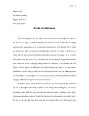 Eng 151 death of a salesman.docx
