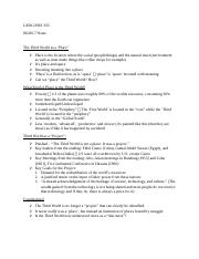 Lecture Notes 6-20 JSIS 335.docx