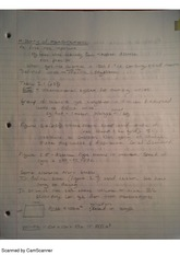 history of measurement, notes