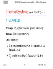 Lecture 4 - Sep.17.2013 - Thermal Systems