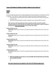 FdRel 250 Lesson 3 Reading and Writing Template.docx
