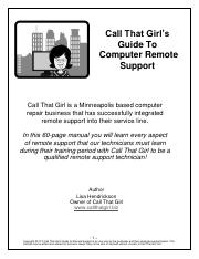 Call That Girl's Guide To Remote Support 2nd Edition.pdf