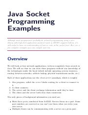 2e. Java Socket Programming Examples.pdf