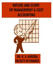 1 Introduction, Nature and Scope of Cost Accounting.ppt