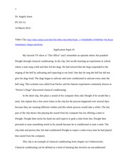 Pavlov's Dogs Application Paper