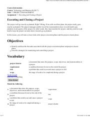 7. Executing and Closing a Project.pdf