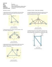 TUTORIAL 4 (Q) TRUSSES