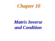 Lecture+23--Inverse+matrix+_+Condition+number