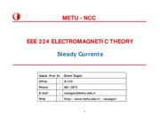 EEE224_Fall10_SteadyCurrents