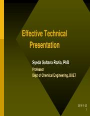 Technical-presentation