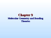 Chapter 9 Molecular Geometry