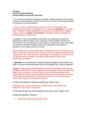 bio endocrine questions essay Best answer: ok, here is a quick example of your last question about the endocrine gland cell and the target cell actually, if you're taking ap bio this year you should know that this was the topic of an essay question, so it will probably not be repeated again as an essay- it's more likely you'll see it as a multiple choice question.