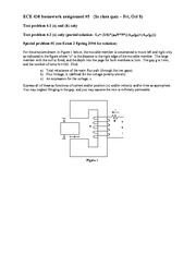 Fall 2010 HW5 Flux Linkage, Force of Electric Origin, Co-Energy Complete