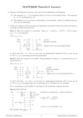 Tutorial 6 - Answers