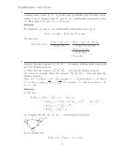 Homework 2 Solution on Stochastic Processes