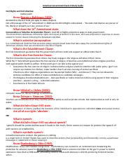 American Government Exam II Study Guide (2)